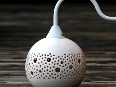 kamelo-ceramika-ball-kinkiet-white