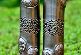 kamelo-ceramika-beskid-rose-lamp-silvergold_01