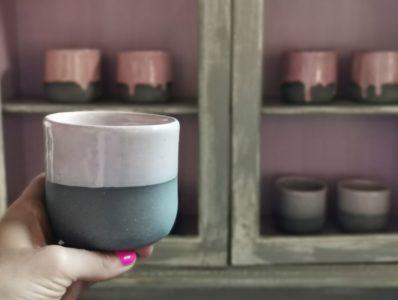 kamelo ceramika kubek prosty delikatny róż_01