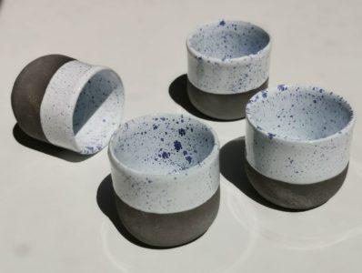 kamelo ceramika kubek ultramaryna z białym_10