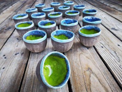 kamelo ceramika miseczka do świecy Rustic dla Green Dragonfly_05