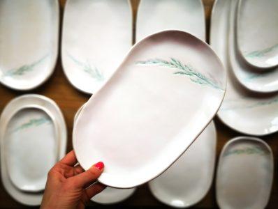kamelo ceramika patery Willa Pod Klimczokiem