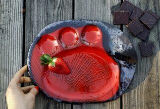 kamelo ceramika_truskawka w czekoladzie_restaurant order_05